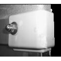 Cabochon d'extrémité de baguette de jonction toit/caisse Gauche