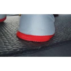 Tapis de caoutchouc de protection supplémentaire (option)